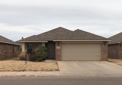 Lubbock Single Family Home For Sale: 5506 110th Street