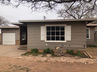 Lubbock County Single Family Home For Sale: 4605 Canton Avenue