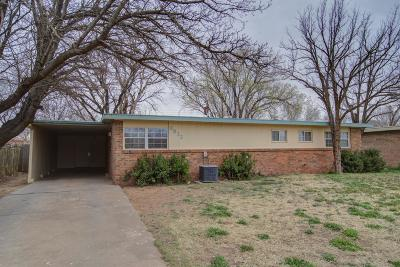 Single Family Home For Sale: 2832 65th Street