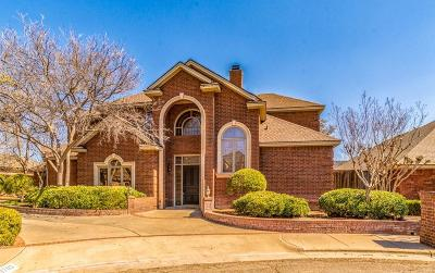 Lubbock Single Family Home For Sale: 9703 York Place