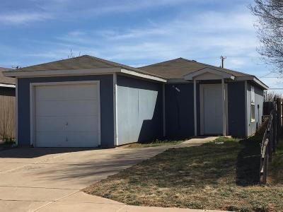 Lubbock County Single Family Home For Sale: 109 74th Street