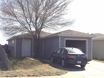 Lubbock County Single Family Home Under Contract: 111 74th Street