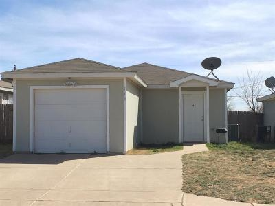 Lubbock County Single Family Home Under Contract: 113 74th Street