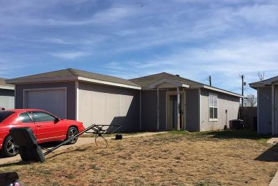 Lubbock County Single Family Home For Sale: 117 74th Street