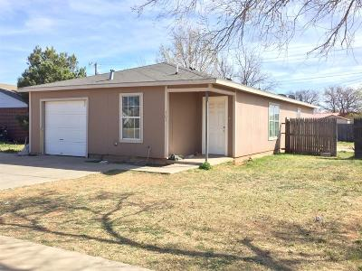 Lubbock County Single Family Home For Sale: 107 76th Street