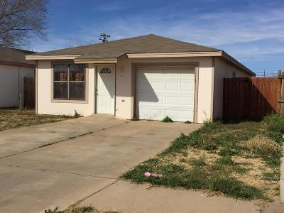 Lubbock County Single Family Home For Sale: 116 77th Street
