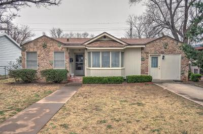Lubbock Single Family Home Under Contract: 3513 28th Street