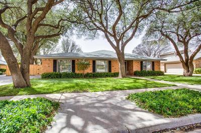 Lubbock Single Family Home For Sale: 8014 Wayne Avenue