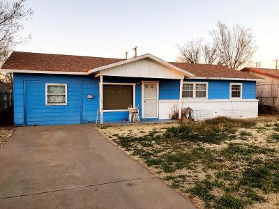 Lubbock County Single Family Home Under Contract: 2721 E Colgate Street
