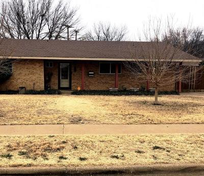 Lubbock Single Family Home Under Contract: 4621 27th Street