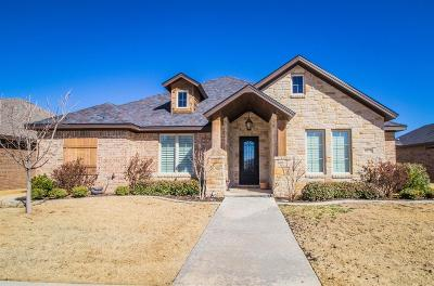 Lubbock Single Family Home Under Contract: 6118 75th Street