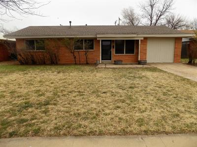 Lubbock Single Family Home For Sale: 4917 9th Street