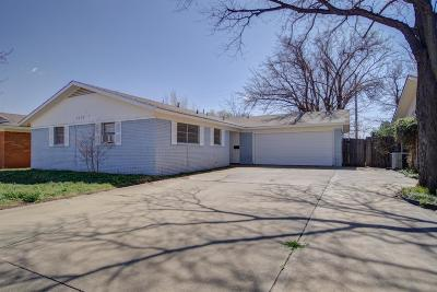 Lubbock Single Family Home For Sale: 5439 42nd Street