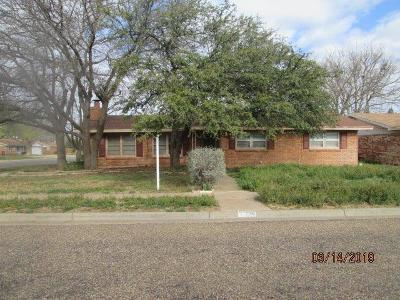 Lubbock County Single Family Home For Sale: 2126 64th Street