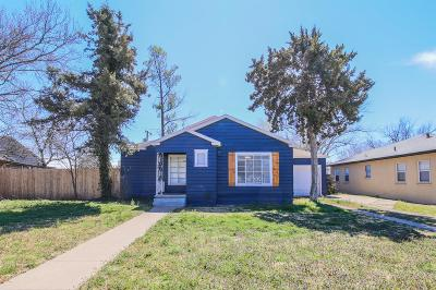Single Family Home For Sale: 2509 30th Street