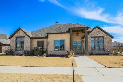 Lubbock TX Single Family Home For Sale: $599,000