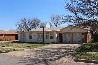 Lubbock Single Family Home For Sale: 5525 18th Street