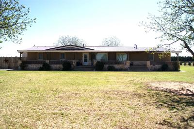 Single Family Home For Sale: 13401 County Road 1500