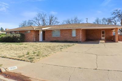 Brownfield Single Family Home For Sale: 1702 E Buckley Street