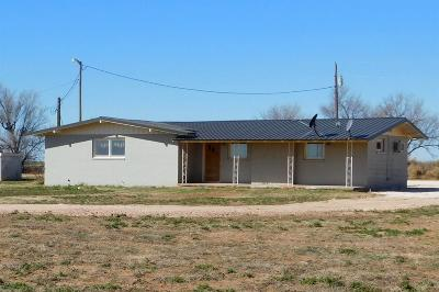 Bailey County, Lamb County Single Family Home Under Contract: 421 County Road 34