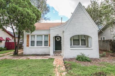 Single Family Home For Sale: 2207 24th Street