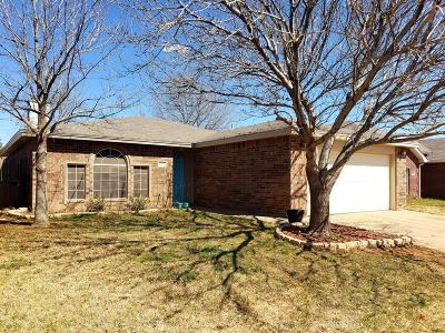 Lubbock Single Family Home For Sale: 6312 14th Street