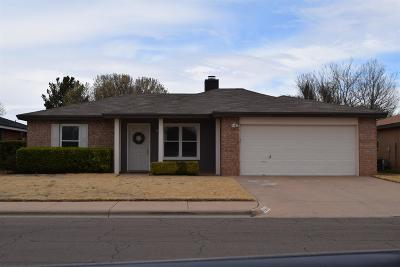 Lubbock Single Family Home Under Contract: 6112 10th Street