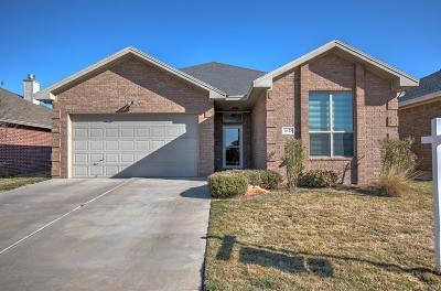 Lubbock Single Family Home For Sale: 7628 85th Street