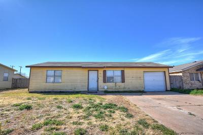 Lubbock Single Family Home For Sale: 6213 21st Street