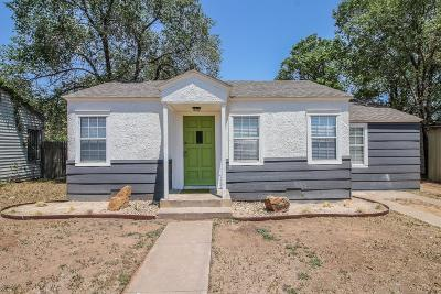 Single Family Home For Sale: 2420 23rd Street