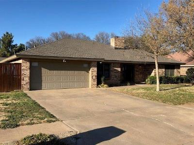 Lubbock Single Family Home For Sale: 3710 97th Street