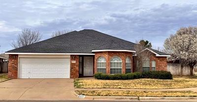 Lubbock Single Family Home Under Contract: 6102 Duke Street