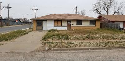 Lubbock TX Single Family Home Under Contract: $13,500