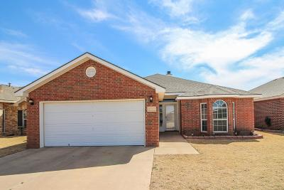 Lubbock Single Family Home For Sale: 1713 100th Street
