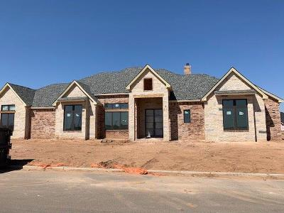 Lubbock Single Family Home Under Contract: 4302 139th Street