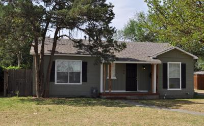Single Family Home For Sale: 2709 28th Street