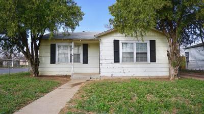 Single Family Home For Sale: 101 N Uvalde Avenue