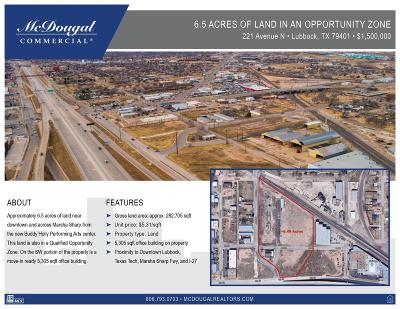 Lubbock Commercial For Sale: 221 Ave N