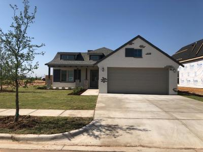 Lubbock Single Family Home Under Contract: 3427 124th