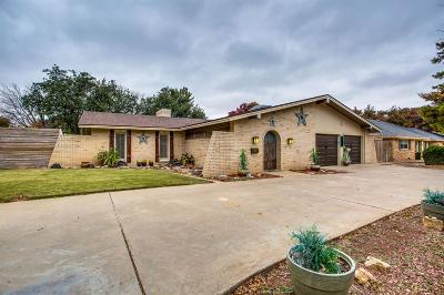 Lubbock Single Family Home For Sale: 4007 68th Street