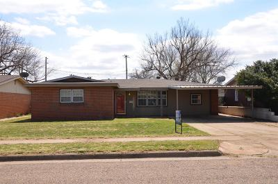 Single Family Home For Sale: 5313 31st Street