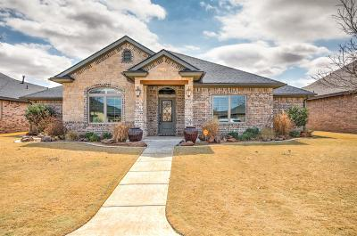 Lubbock Single Family Home Under Contract: 4009 126th Street