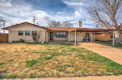 Lubbock Single Family Home For Sale: 5501 9th Street