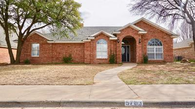 Lubbock Single Family Home For Sale: 5703 84th Street