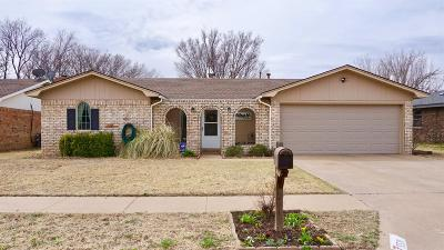 Lubbock Single Family Home For Sale: 5521 1st Street