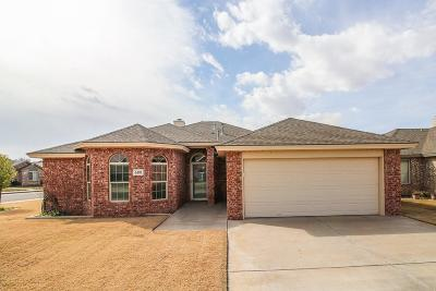 Lubbock Single Family Home For Sale: 6101 101st Street