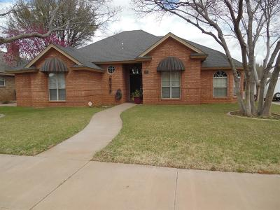 Lubbock Single Family Home Under Contract: 5702 85th Street