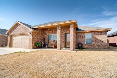 Lubbock Single Family Home For Sale: 8806 15th Street