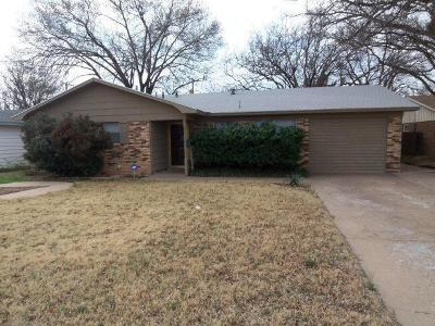 Lubbock Single Family Home Under Contract: 5317 47th Street