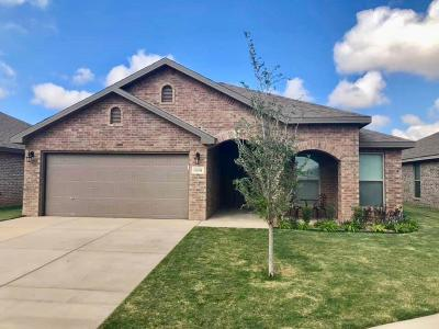 Lubbock Single Family Home For Sale: 13604 Uvalde Avenue